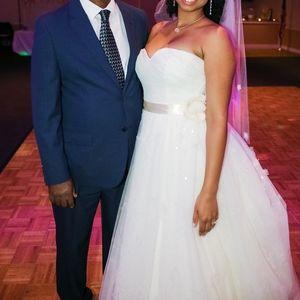 Sweatheart wedding dress